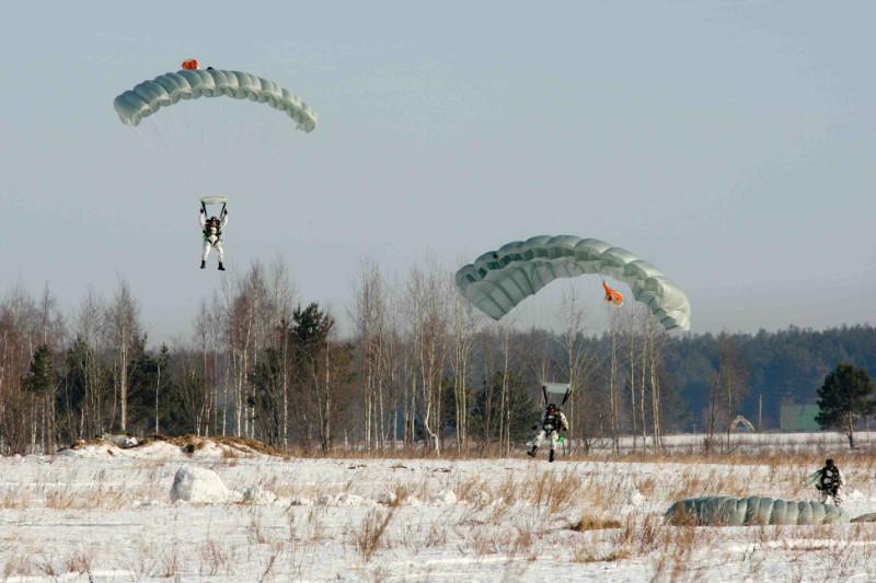 "Парашют ""Арбалет-2"" в ВДВ"