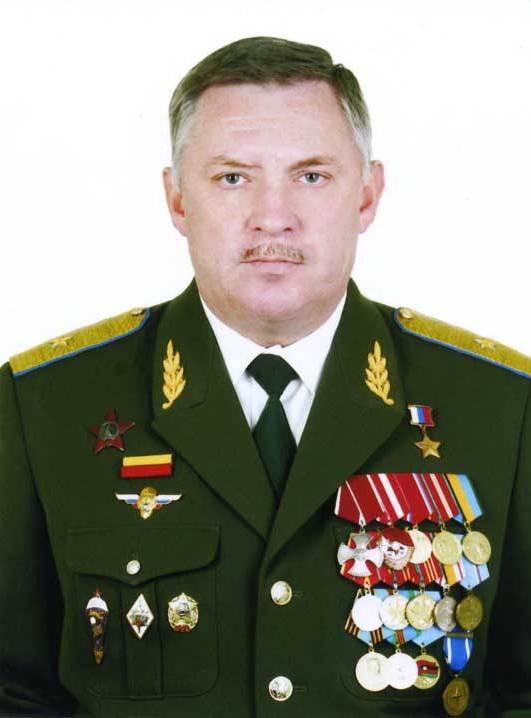 Герой России Беляев Н.А.