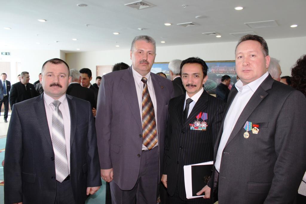Союз десантников Казахстана с Муратом Абдушкуровым