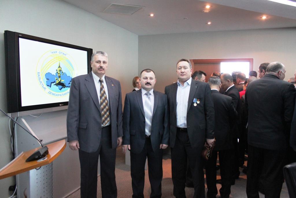 Представители союза десантников Казахстана