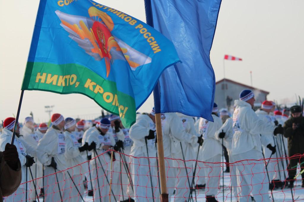 ВДВ лыжня России 2012