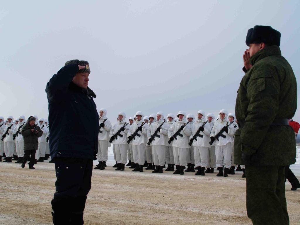 Десантники 106-й гвардейской воздушно-десантной дивизии