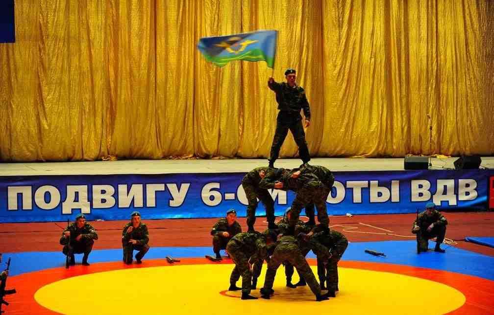 турнир по самбо памяти «Подвига 6-ой роты ВДВ»