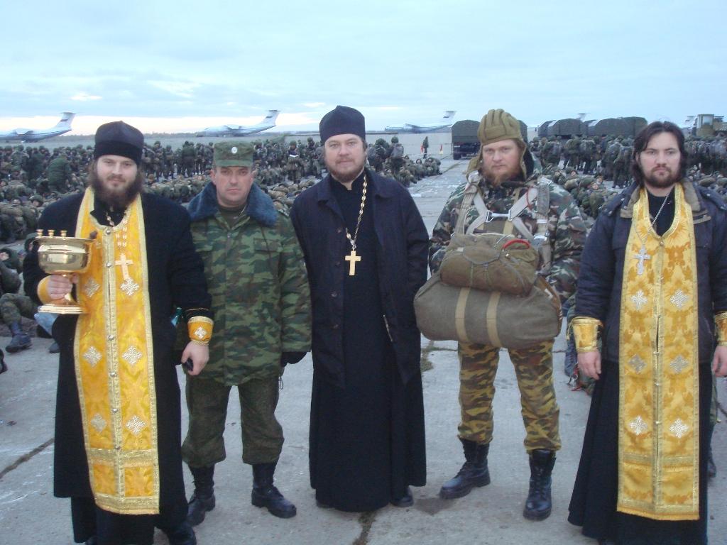сбор священнослужителей ВДВ