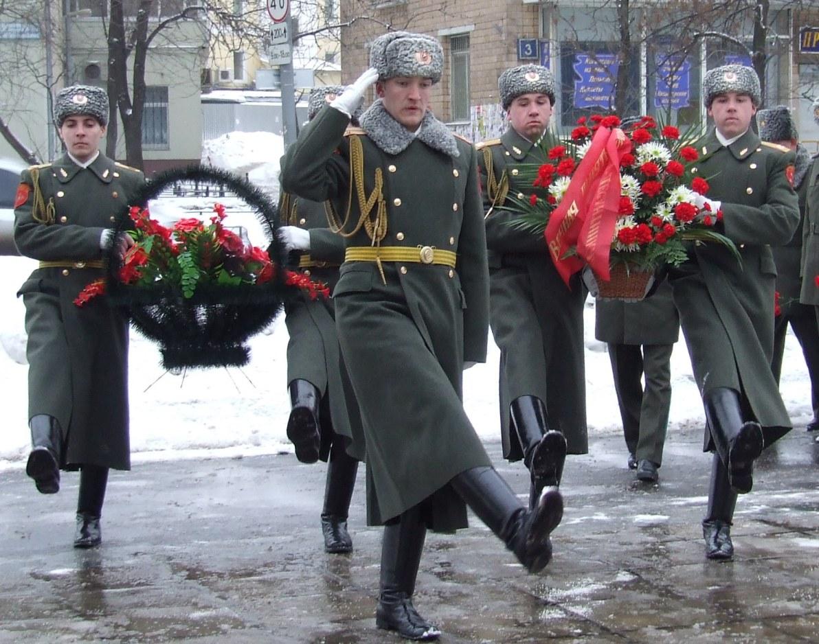 Фото с возложения венков в воронеже 5