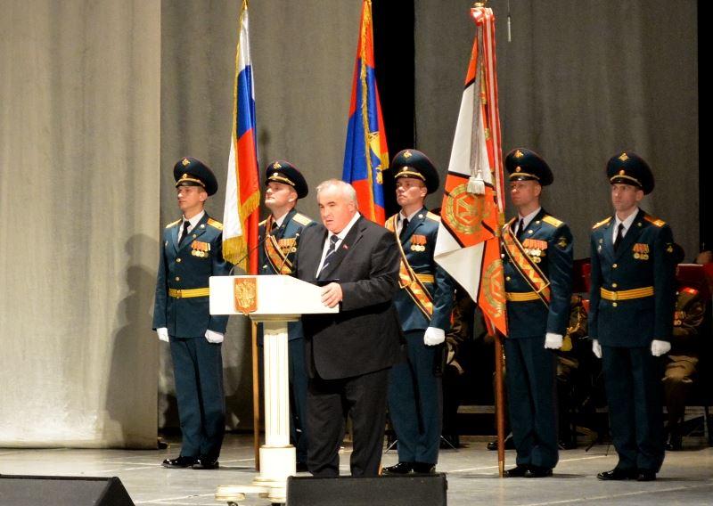 В Костроме прошло торжественное собрание, посвященное Дню защитника Отечества