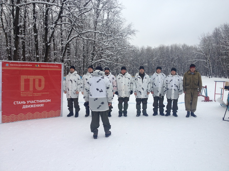 Подготовка к марш-броску на лыжах «Сызрань-Самара»