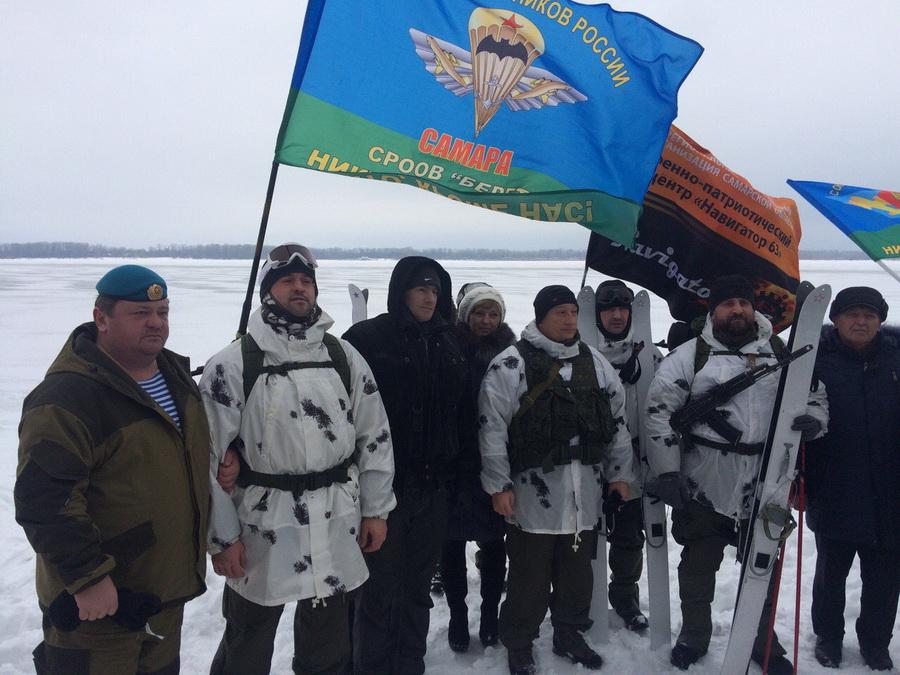 лыжный марш-бросок «Сызрань-Самара»
