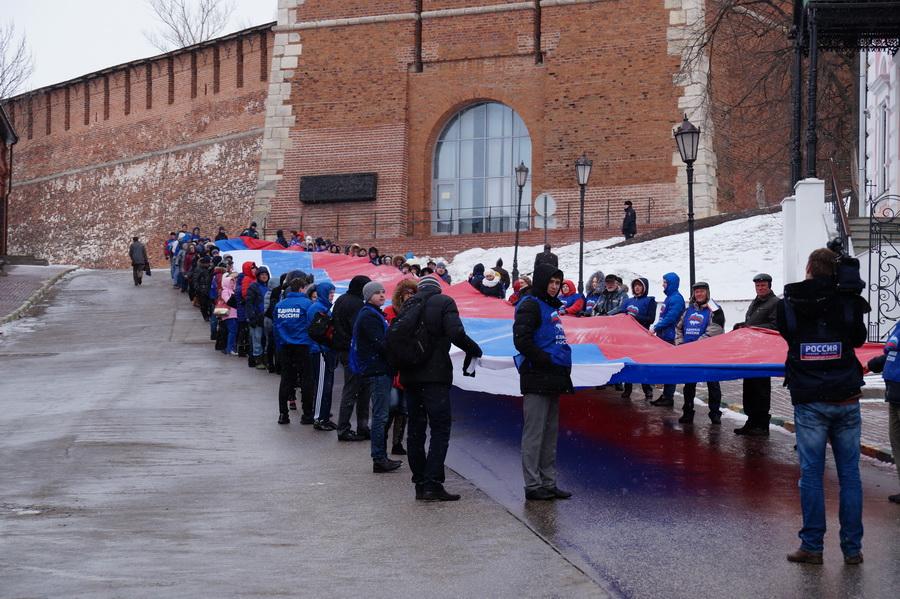 Вторая годовщина вхождения Крыма в состав России.