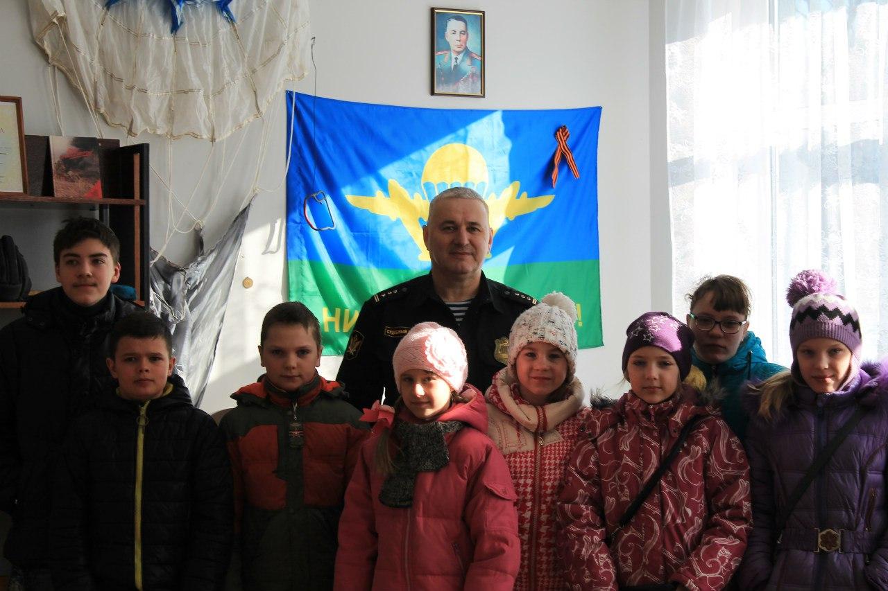 Экскурсия в Пряжинское отделения «Союза десантников Карелии»