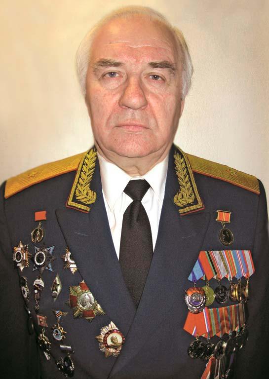 Генерал-майор ХАРЕБИН СЕРГЕЙ ПАВЛОВИЧ!