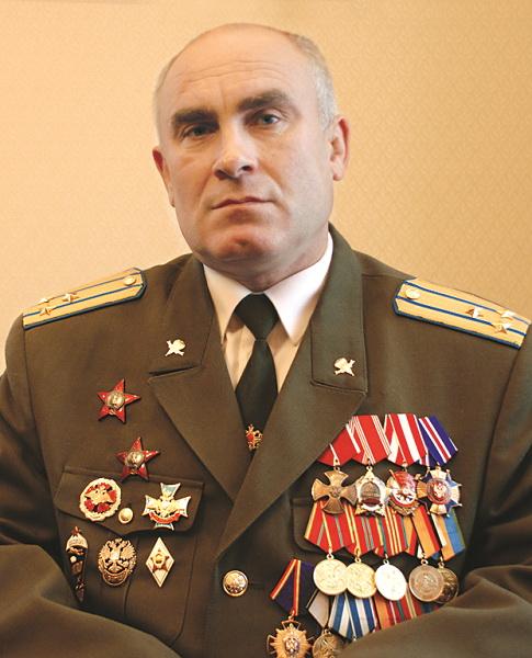 Член Центрального Совета «Союза десантников России» Глазырин С.Н.