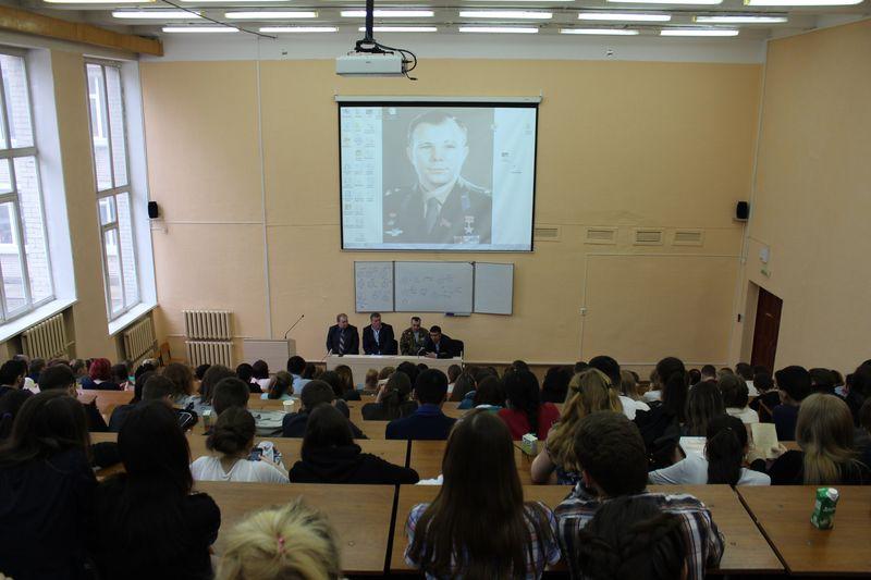 Встреча со студентами Педагогического Университета