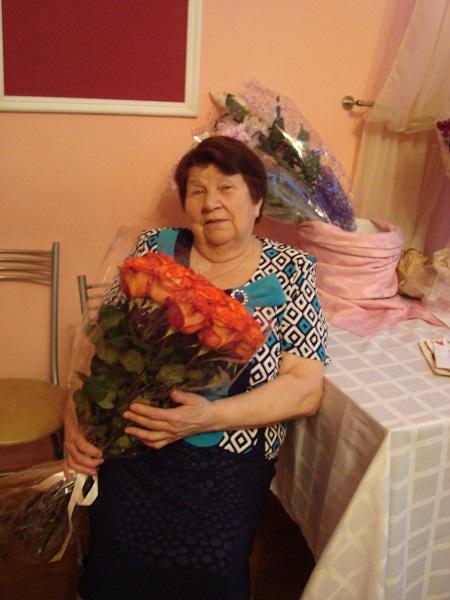 День рождения Марии Павловны Цветковой