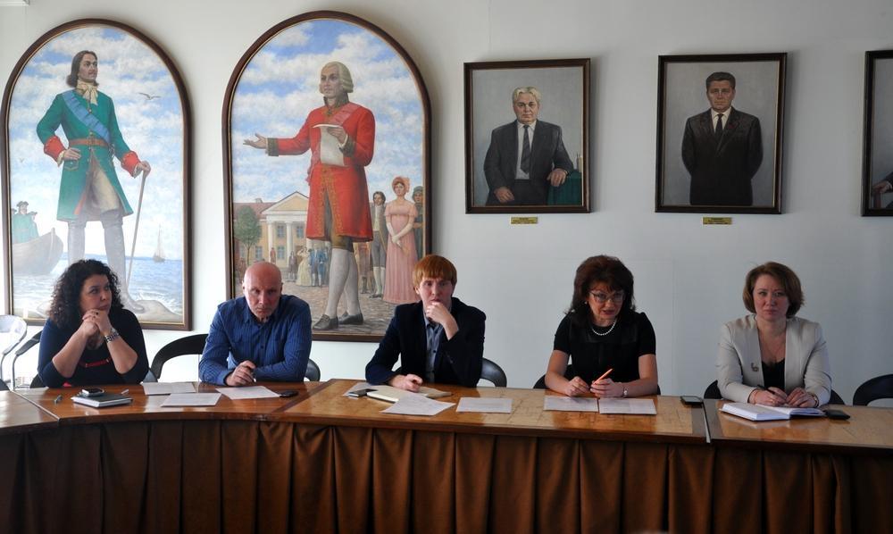 Заседание Координационного Совета по патриотическому воспитанию населения при Главе Петрозаводска
