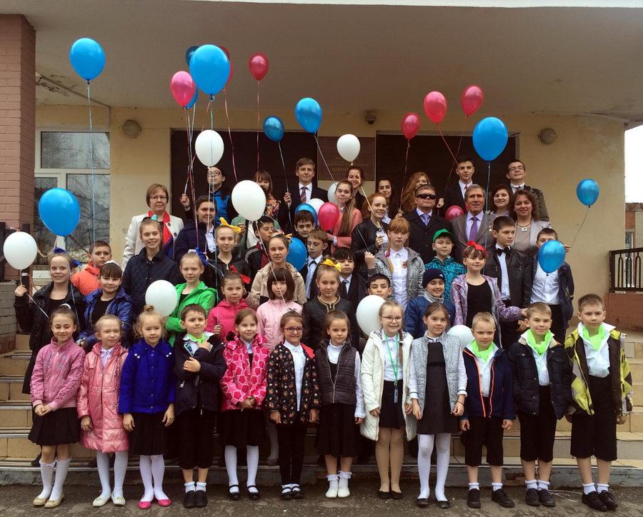 Встреча с учащимися МОУ СОШ Введенская средняя школа № 3 г. Звенигорода