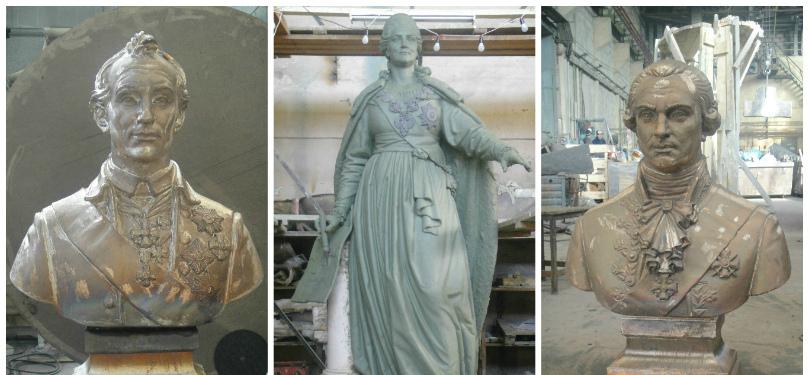 Стартуют работы по возведению памятника Екатерине II в Симферополе