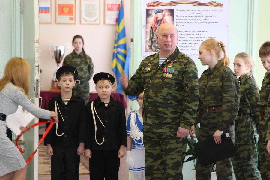 Открытие первого в Мурманской области кабинета патриотического воспитания