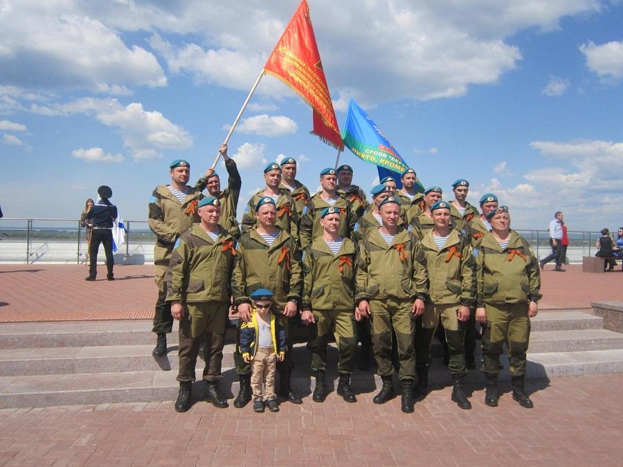 На Площади Славы г. Самары состоялся митинг, посвященный 71-ой годовщине Победы в Великой Отечественной войне