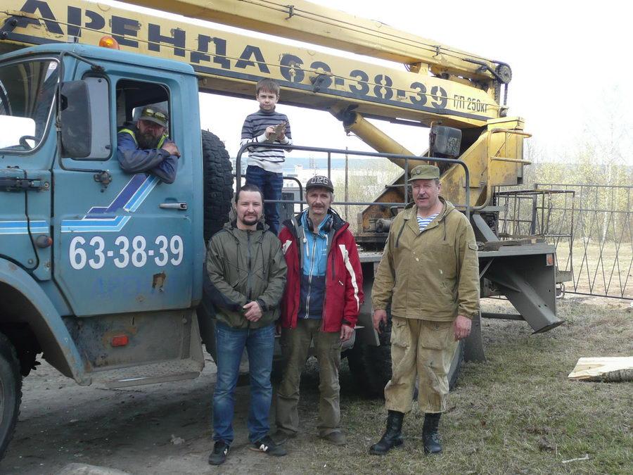 Аллея памяти в городе Петрозаводске