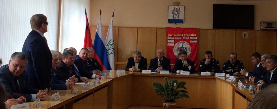 Встреча с учащимися МОУ СОШ № 11 г. Камышина