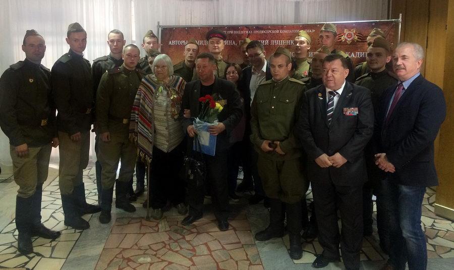 Владимир Вшивцев принял участие в Презентации книги и фильма