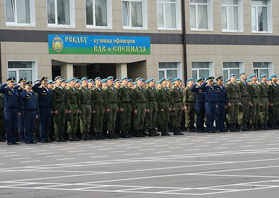 В Рязанском ВВДКУ рекордный конкурс на поступление