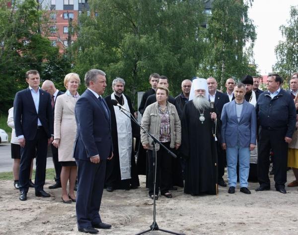 Новый храм в Карельской столице
