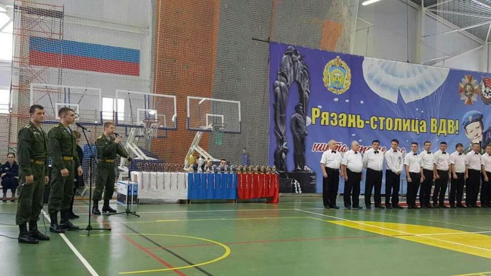 В Рязани спортсмены воздушно-десантных войск России разыграли Кубок командующего ВДВ по боксу