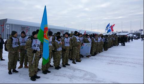 Воспитанники военно – патриотического центра «Антитеррор» г.Химки прошли «Путь воина»