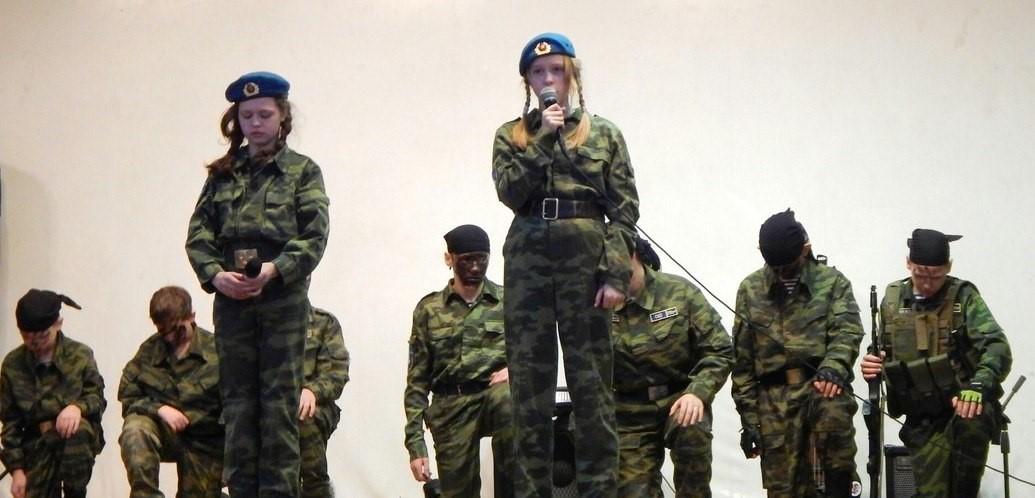 Бойцы ДВПК «Витязъ» в Киркинесской бригаде морской пехоты