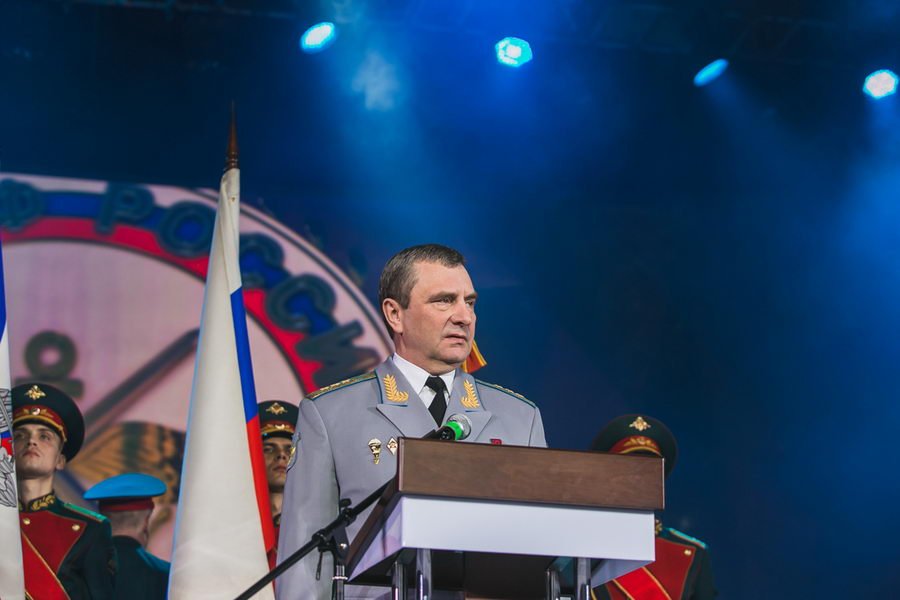 ДОСААФ России отметило 90-летний юбилей большим праздничным концертом