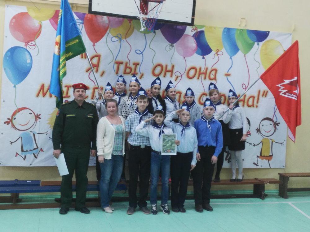 «День защитника отечества» в Карельских школах