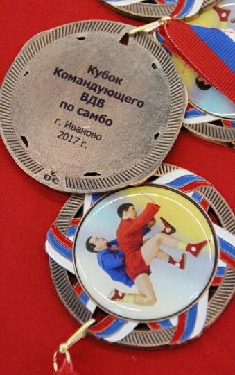 В Иваново прошел турнир по самбо «На кубок командующего ВДВ»