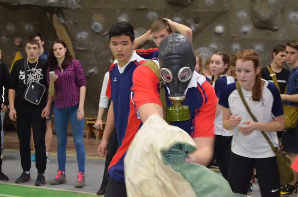 Военно-спортивная игра «Орлёнок»