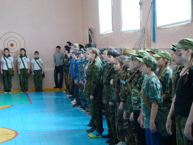 «Зарница» на базе СОШ №44 Прионежского района
