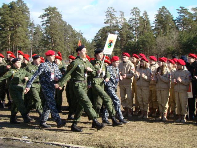 Юнармейцы Карелии принимали участие в первом форуме «Юнармии» Западного военного округа