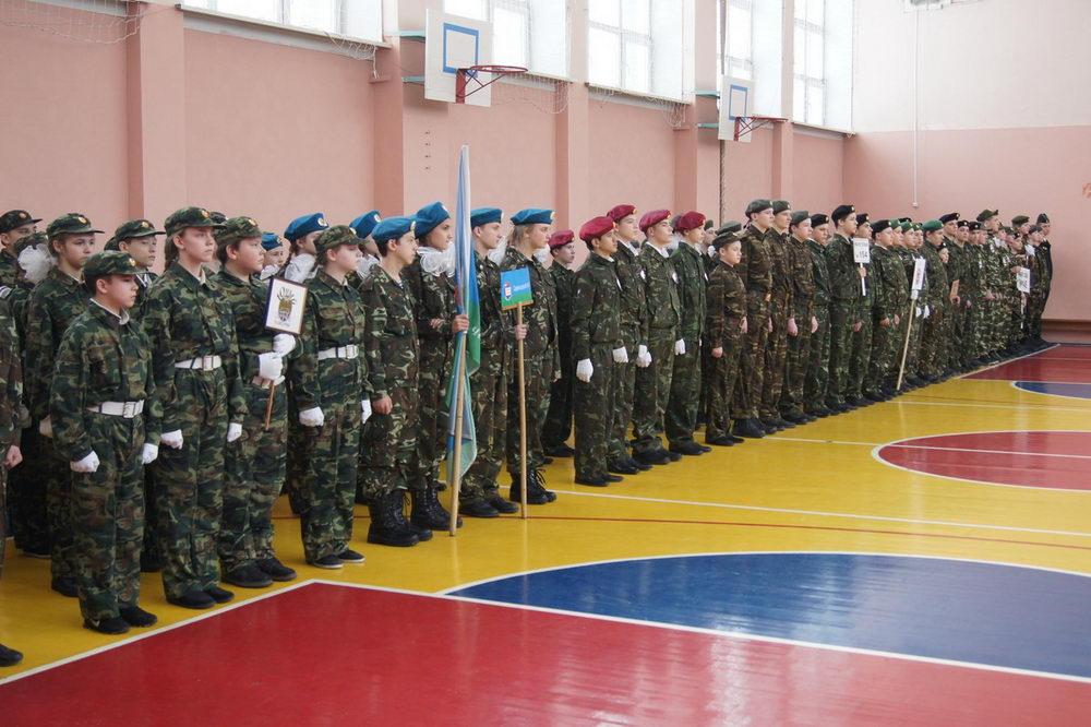 Спортивный праздник «Виват Российской Армии и Флоту!»