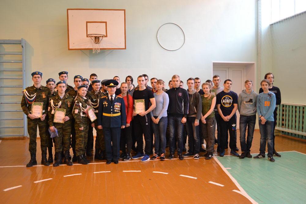Городской конкурс «Призывник года-2017» и городская игра «Зарница»
