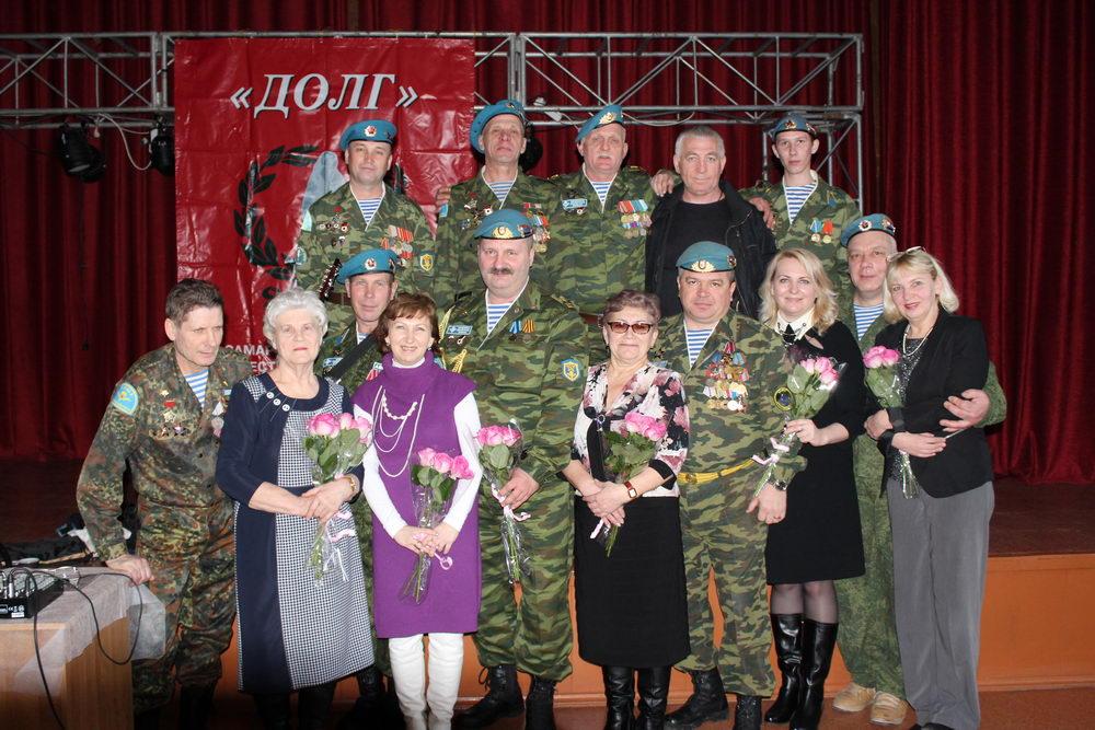 СРООВ «Союз десантников и подразделений специального назначения» поздравили с международным женским днём женщин
