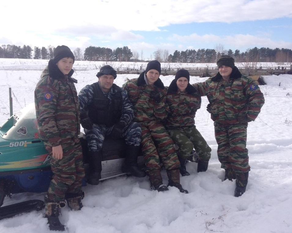 Трехдневный военно – полевой выход ВПО «Сова»