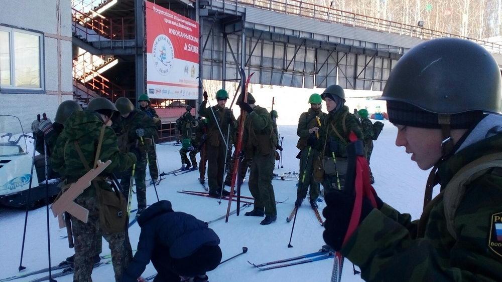 Cоревнования по лыжному многоборью