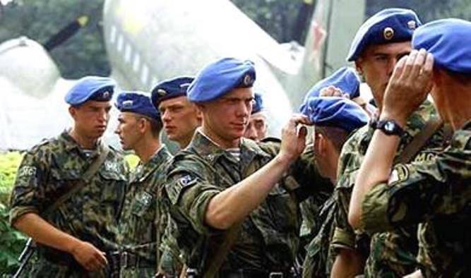 На Балканах будет установлен памятник российским миротворцам