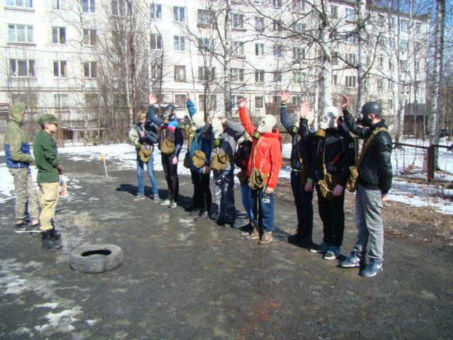 В Петрозаводске состоялся второй тур игры «Зарница 2017»