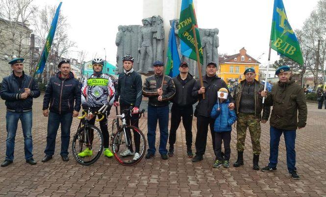ХII ежегодный мемориальный велопробег, посвящённый памяти погибших в локальных войнах