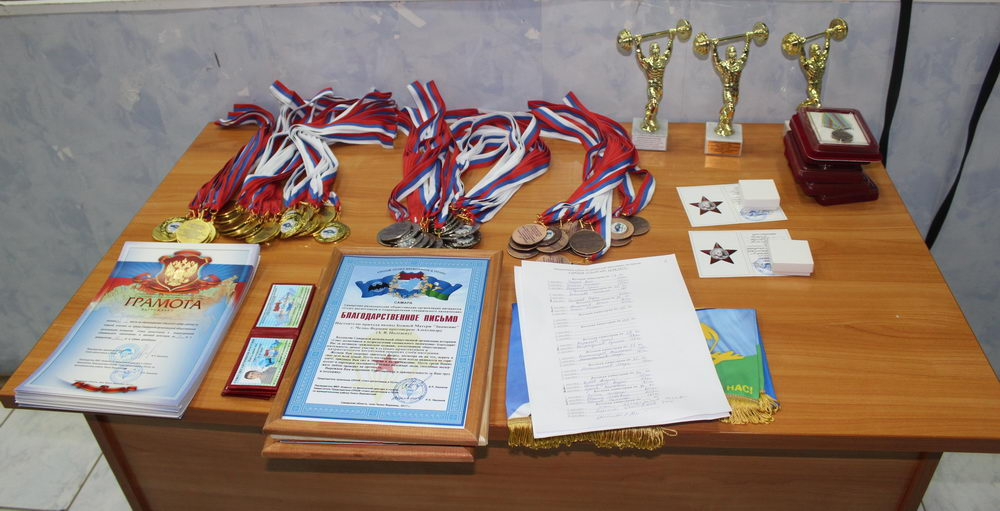Соревнования по тяжёлой атлетике в Челно-Вершинском муниципальном районе Самарской области