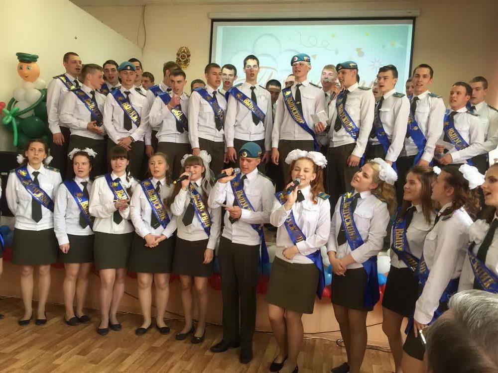Последний звонок у Нижегородских кадетов десантного профиля