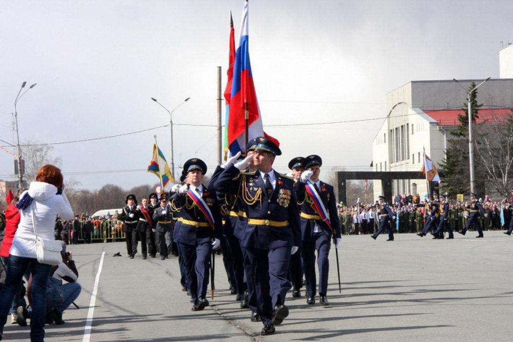 В Петрозаводске состоялся парад, посвященный 72-й годовщине Победы в Великой Отечественной войне