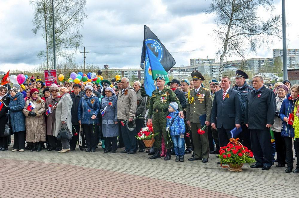 Отчет о проведении 9 мая в г. Березовском Кемеровской обл.