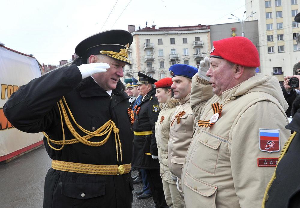 Торжественный Парад 9 мая г. Мурманск